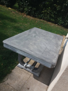 table rectangulaire style shabby chic