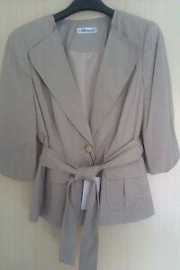 Colour Twill Jacket Designer 20 Safari Size Stone Artigiano 12 Soft Bnwt qFq8xE1
