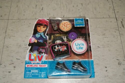Liv Fashion Life Accessory Liv/'n Bowling Pizza Soda NEW