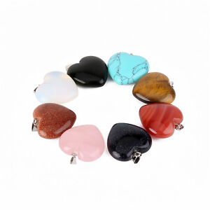 8-Styles-25MM-Natural-Heading-Chakra-Stone-Charm-Pendants-for-DIY-Jewelry-Making