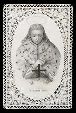 santino merlettato-holycard-canivet S.LUIGI RE DI FRANCIA