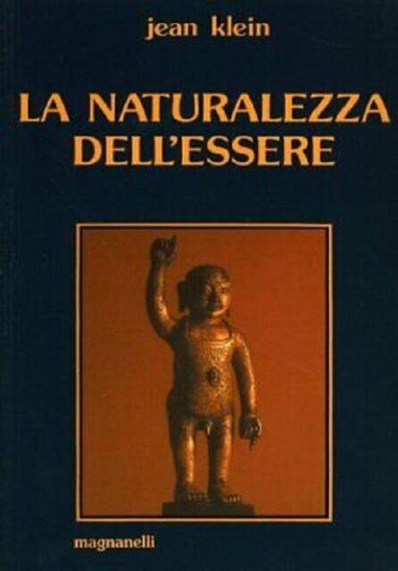 LIBRO LA NATURALEZZA DELL'ESSERE - JEAN KLEIN