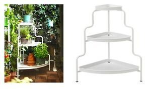 Ikea Socker Plant Stand Indoor Outdoor Herb White Gray Kitchen Ebay