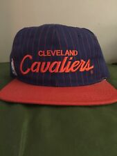 Vintage Cleveland Cavaliers Script Pinstripe Sports Specialties SnapBack Hat