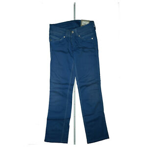 Pepe Jeans Slinky Mujeres Pantalones Elastizados Bajo Recto 28 30 W28 L30 Utilizado Azul Nuevo Ebay