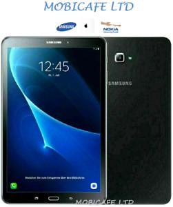 """Samsung Galaxy Tab A SM-T585 10.1"""" 16/32GB Tablet Cellulare Sim, sbloccato-Nero"""