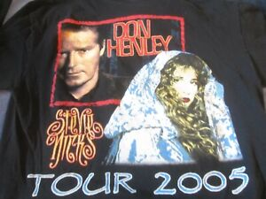 DON HENLEY/STEVIE NICKS 2005 TOUR T-SHIRT BLACK XL PRE-OWNED