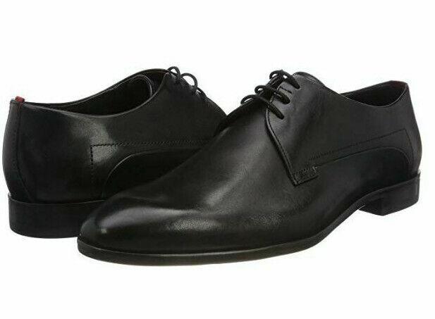 Chaussures Derbys Cuir Noir HUGO BOSS Homme - Appeal - Taille 44 EU NEUF nouveau