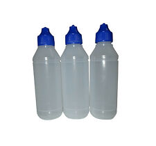 3pcs Gelatin Art Bottle - 3D Jelly Cake Bottle 100ml Empty Bottle