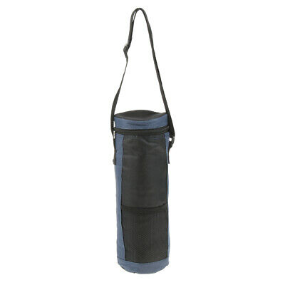 Insulated Bottle Tote Carrier Travel Picnic Drink Wine Cooler Bag with Strap