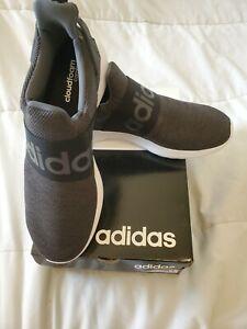 New-adidas-LITE-RACER-CF-SLIP-ON-ADAPT-DB1645-Cloudfoam-Black-White-Shoes-9-5
