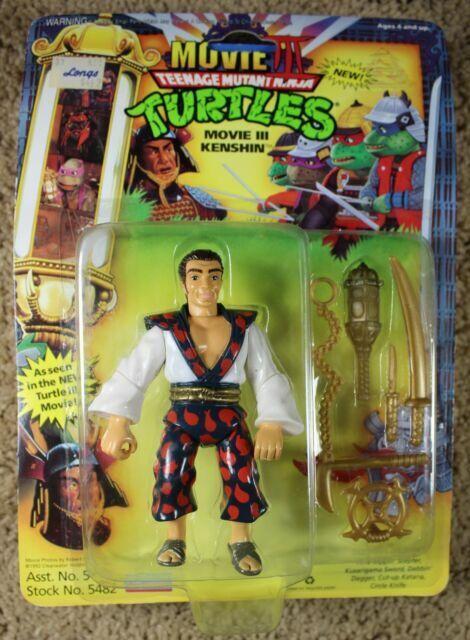 Playmates Toys Teenage Mutant Ninja Turtles Movie 3 Kenshin Card