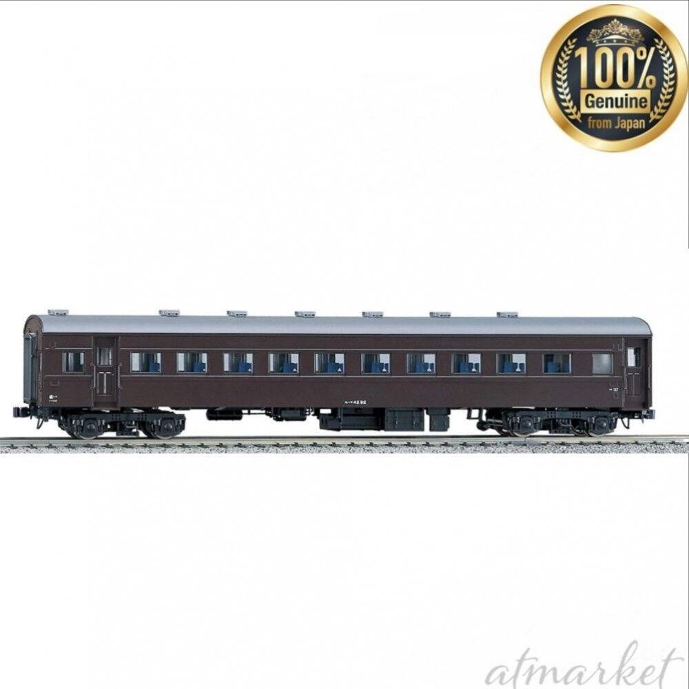 NEW KATO HO Gauge Suhafu 42 Brown 1-508 Model railway car genuine from JAPAN