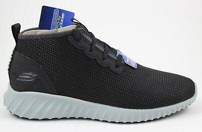 Men/'s Skechers Skech Ascent SPIKE FORK 52673//BKGY Black Gray Brand New