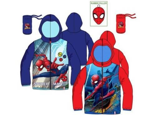 Marvel Avengers Wind //Regenjacke Spiderman rot oder blau NEU