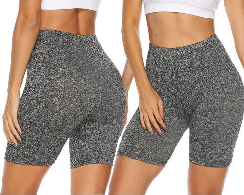 Fashion Women Leggings Stretch Biker Short Workout Spandex Yoga Pants SMLXL X548