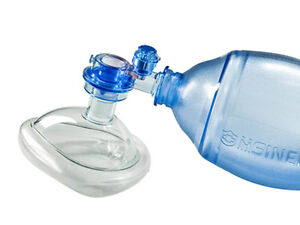 Image Is Loading Manual Resuscitator 280ml PVC Infant Ambu Bag Oxygen
