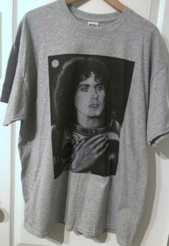 Hand-drawn Marc Bolan T-Shirt Imprimé-Femmes Tailles S /& M Unisexe Tailles L /& XL