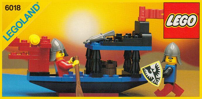 Nouveau LEGO castle 6018 Bataille Dragon Legoland Chevalier Noir  Scellé navires World grand  100% livraison gratuite