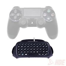 Wireless Bluetooth Keyboard Accessory Adapter for Sony PlayStation 4 Contro