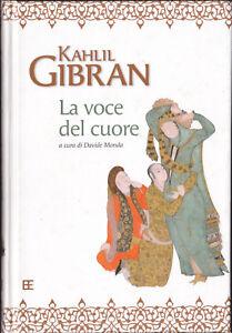 LIBRO-Kahlil-Gibran-La-voce-del-Cuore-COPERTINA-RIGIDA-PRIMA-EDIZIONE-2006