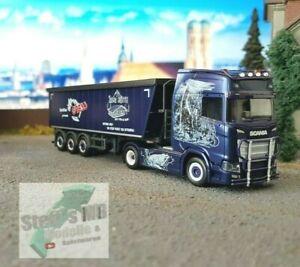 Herpa-309936-Scania-CS-20-Stoffelliner-Gress-semirremolque-transporte-semi-remolque-del-camion