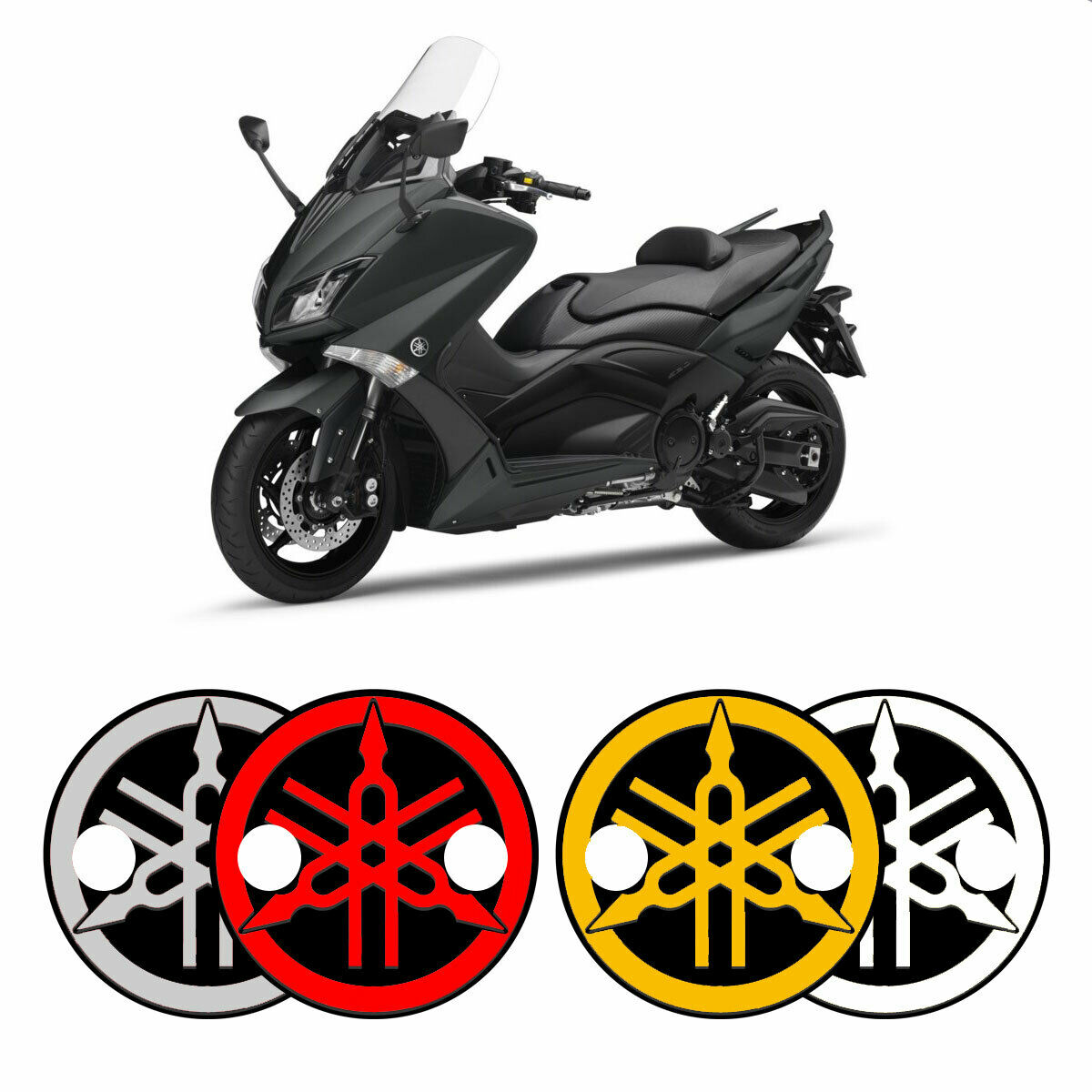 Kit 2 ADESIVI in RESINA 3D per PROTEZIONE CARTER TMAX 500 VARIATORE YAMAHA T MAX