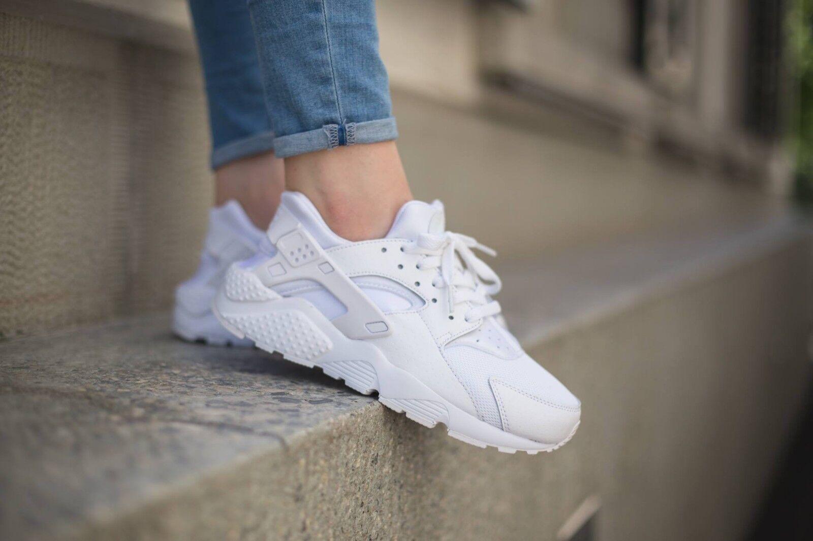 Nike Huarache Triple Blanco Reino 10 Unido 11 Air & 10 Reino 4539e1