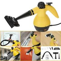 1050w Handheld Steam Cleaner 9 Attachments Kit Multi Purpose Vapor Cleaner N4m7