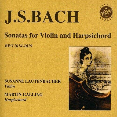 Susanne Lautenbacher - Sonatas for Violin & Harpsichord [New CD]