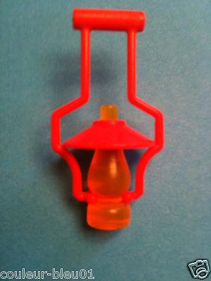 PLAYMOBIL Western Lanterne jaune couvercle étain pour fort//ranch//maison
