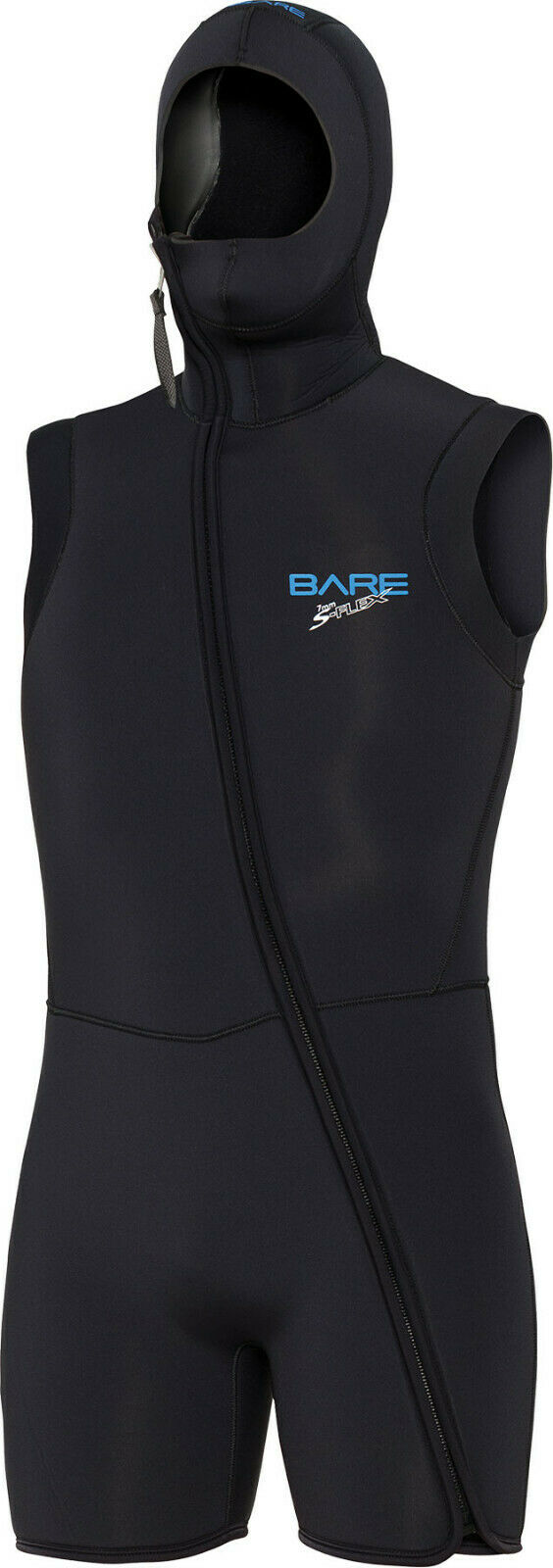 Bare Sport SFLEX Solette Cappuccio Gilet Uomo 7mm Scuba Diving Muta tutti Dimensiones