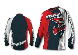 Maillot moto cross  meldesign TAILLE M mel7