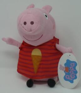 Peppa-Pig-Wutz-Rot-Eistuete-ca-23-cm-Plueschtier-Stofftier-Plueschfigur-Pluesch