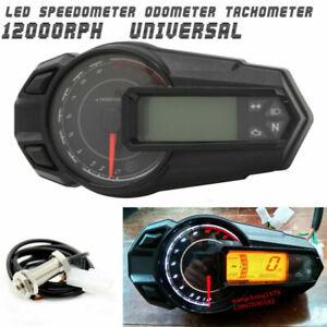 Wasserdichte LCD Tachometer Tachometer Kilometerzähler 12000RPH für Moto ATV DE - Hamburg, Deutschland - Wasserdichte LCD Tachometer Tachometer Kilometerzähler 12000RPH für Moto ATV DE - Hamburg, Deutschland