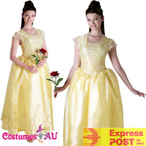 Deluxe Belle Princess Costume Disney Live Action Beauty And The