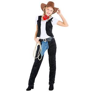 Frauenkostum Cowgirl Cowboy Sheriff Western Wilder Westen Fasching