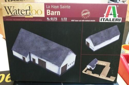 WATERLOO LA HAYE SAINTE BARN Italeri 1:72 plastic model kit 6175 200years