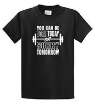 Sore Today -sorry Tomorrow Printed Workout T Shirts Reg - Big And Tall Port & Co