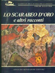 LO-SCARABEO-D-039-ORO-E-ALTRI-RACCONTI-EDGAR-ALLAN-POE-MONDADORI-1970