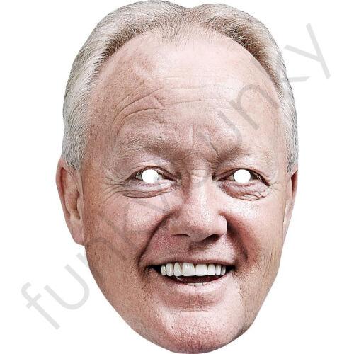 CHEGGERS Celebrity CARTA MASCHERA-tutte le nostre maschere sono pre-tagliati! Keith chegwin