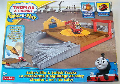 NEW Salty/'s Flip /& switch Tracks Thomas /& Friends The Train Take-n-Play FP BCX19