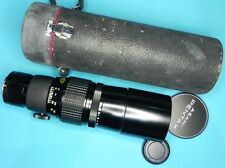 Pentax SMC 400mm f5.6 Preset K mount   # 6576139