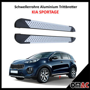 schwellerrohre aluminium trittbretter f r kia sportage ab. Black Bedroom Furniture Sets. Home Design Ideas