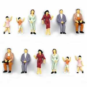 Model-People-Mini-People-Figures-Painted-Train-Passenger-Toy-Miniatures-Gift-Man