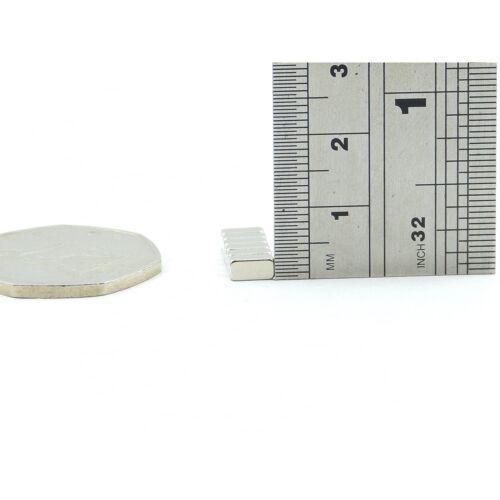N35 6mm x 3mm x 2.5mm strong Neodymium block magnets DIY MRO BULK PKS craft