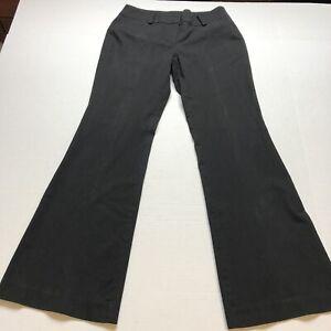 Ann-Taylor-Signature-Fit-Size-2-Black-Dress-Pants-A1847
