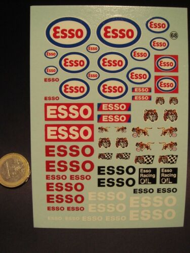 "T68 DECALS 1//24  PETROLIER /"" ESSO /"""