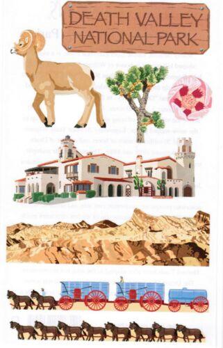 Mrs Grossman/'s Death Valley National Park Scrapbook Stickers 3 Sheets Desert