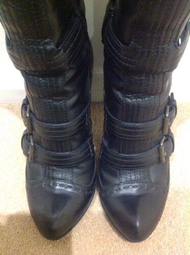 Dust avec Black Eu In Alexander 5 Bag défaut 36 Mcqueen Long petit Boots qvnUp8